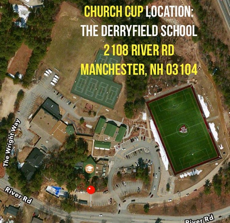 NEW Location for Church Cup in 2016!
